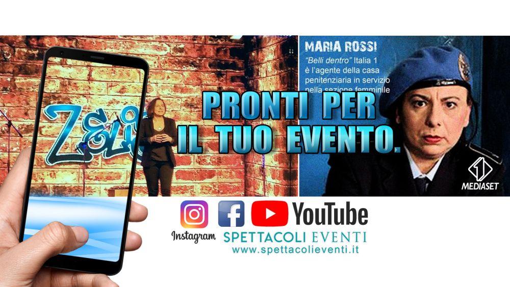 Maria Rossi da Zelig al Maurizio Costanzo Show – Spettacoli eventi comici e cabaret