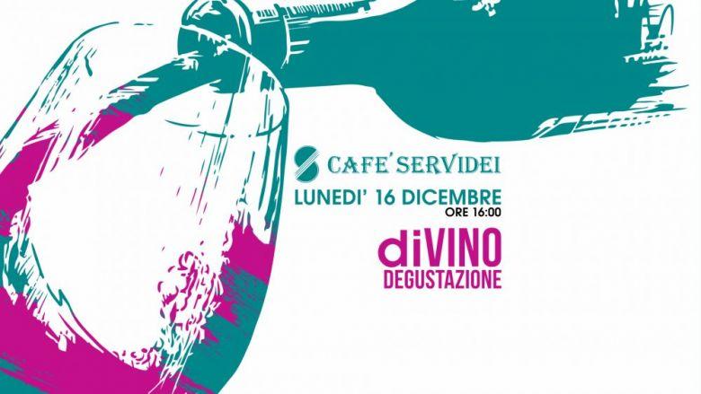 """Degustazione """"diVino"""" brinda al Cafè Servidei di Civitanova Marche"""