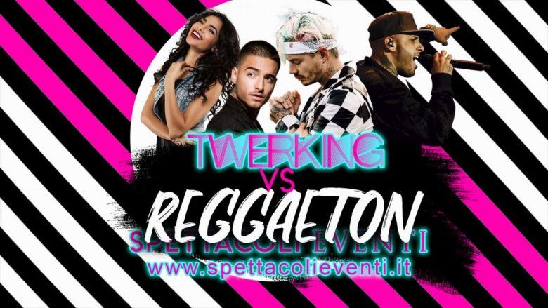 Spettacolo animazione Twerking Vs Latino Reggaeton