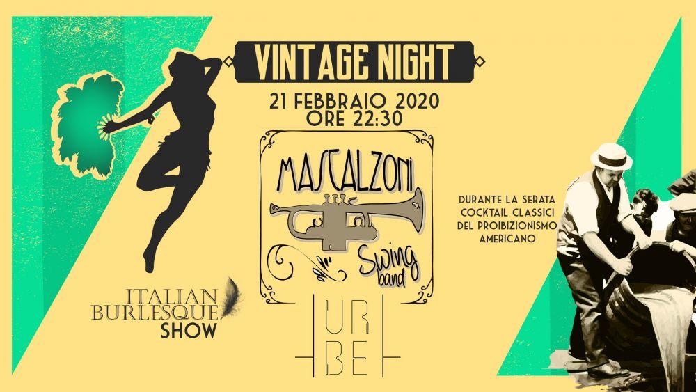 Eventi Vintage – Lo spettacolo al tempo del proibizionismo